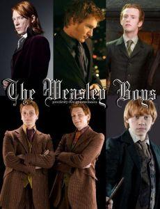 bill-weasley-book-boys-charlie-weasley-fred-weasley-Favim.com-313442
